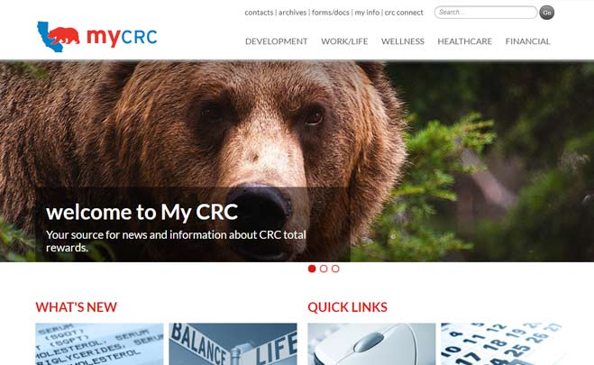 CRC benefits website